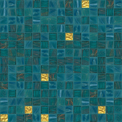 Cromie 20x20 Palma Oro | Mosaicos de vidrio | Mosaico+