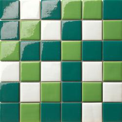 Cromie 50x50 Mix Verde | Glass mosaics | Mosaico+