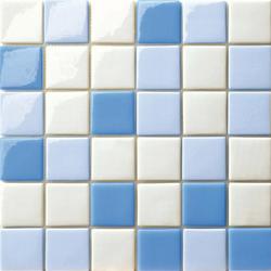 Cromie 50x50 Mix Azzurro | Mosaïques en verre | Mosaico+