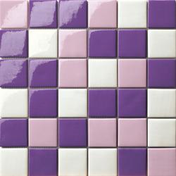 Cromie 50x50 Mix Viola | Glass mosaics | Mosaico+