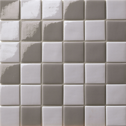 Cromie 50x50 Mix Grigio Scuro | Glass mosaics | Mosaico+