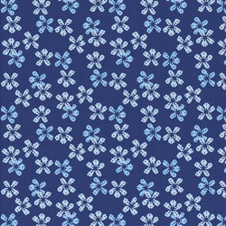 Decor Blooming | Night Bloom Blu 10x10 | Mosaïques | Mosaico+