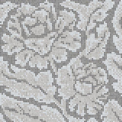 Decor 15x15 Lacquer Grey A | Glass mosaics | Mosaico+