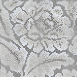 Decor 15x15 Lacquer Grey B | Glass mosaics | Mosaico+