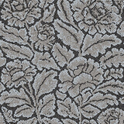 Decor Blooming | Lacquer Grey 15x15 | Glass mosaics | Mosaico+