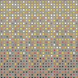 Decor 20x20 Trame Roccia | Glass mosaics | Mosaico+