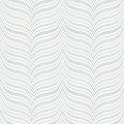 Decor 20x20 Soundwave White | Glass mosaics | Mosaico+