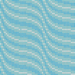 Decor 20x20 Satin Blu | Mosaici | Mosaico+