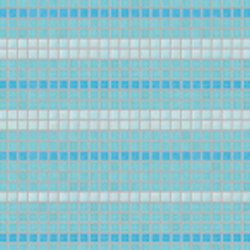Decor 20x20 Satin Plus Blu | Glass mosaics | Mosaico+