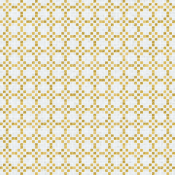 Decor 20x20 Mohair Oro Giallo | Glass mosaics | Mosaico+