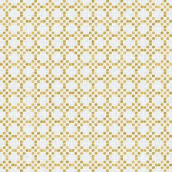 Decor 20x20 Mohair Oro Giallo | Mosaïques en verre | Mosaico+