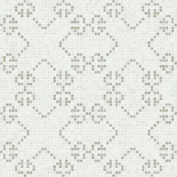 Decor 20x20 Messico Bianco | Glass mosaics | Mosaico+