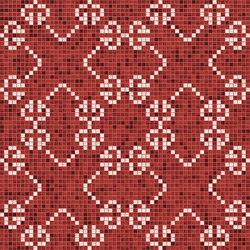 Decor New Classic | Messico Amaranto 20x20 | Glass mosaics | Mosaico+