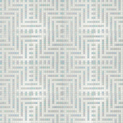 Decor 20x20 Peru Bianco | Mosaïques en verre | Mosaico+