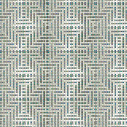 Decor New Classic | Peru Bianco 20x20 | Glass mosaics | Mosaico+