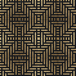 Decor 20x20 Peru Oro | Glass mosaics | Mosaico+
