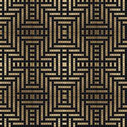 Decor 20x20 Peru Oro | Mosaïques en verre | Mosaico+