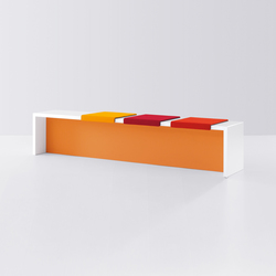 k-modul | Waiting area benches | werner works