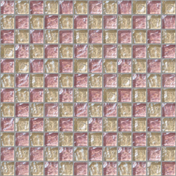 Decor 23x23 Chess Pink Decoro | Mosaici in vetro | Mosaico+