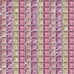 Decor 23x23 Quartet Pink Decoro | Mosaici | Mosaico+