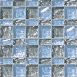 Decor 23x48 | 48x48 Meet Gray Decoro | Glass mosaics | Mosaico+