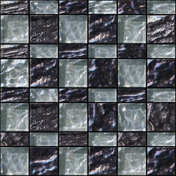 Decor 23x48 | 48x48 Meet Black Decoro | Glass mosaics | Mosaico+