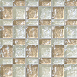 Decor 23x48 | 48x48 Meet White Decoro | Glass mosaics | Mosaico+