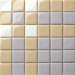 Decor 50x50 Cross Grey | Glass mosaics | Mosaico+