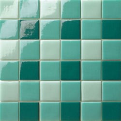 Decor 50x50 Four Jade | Glass mosaics | Mosaico+