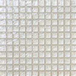 Onde 23x23 Biancopuro | Glass mosaics | Mosaico+