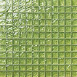 Onde 23x23 Verde | Mosaïques verre | Mosaico+