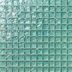 Onde 23x23 Menta | Glass mosaics | Mosaico+