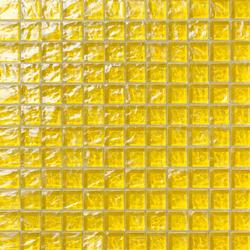 Onde 23x23 Giallo | Mosaïques en verre | Mosaico+