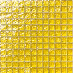 Onde 23x23 Giallo | Mosaïques verre | Mosaico+