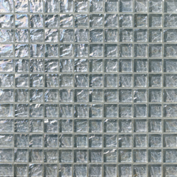 Onde 23x23 Grigio | Glas Mosaike | Mosaico+