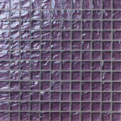 Onde 23x23 Viola | Glass mosaics | Mosaico+