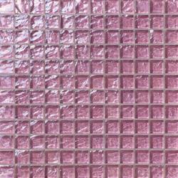 Onde 23x23 Lilla | Glas Mosaike | Mosaico+