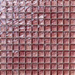 Onde 23x23 Rosa Antico | Mosaïques | Mosaico+