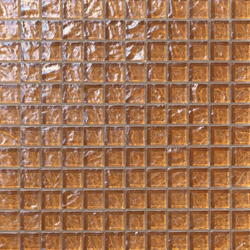 Onde 23x23 Marrone | Mosaici in vetro | Mosaico+