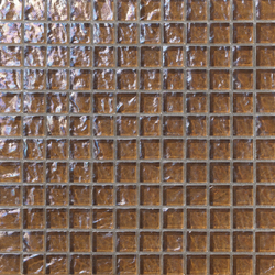 Onde 23x23 Tabacco | Mosaici in vetro | Mosaico+