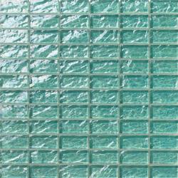 Onde 23x48 Menta R | Mosaïques verre | Mosaico+