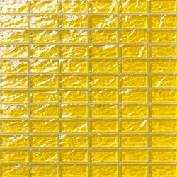 Onde 23x48 Giallo R | Glass mosaics | Mosaico+