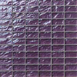 Onde 23x48 Viola R | Mosaïques en verre | Mosaico+