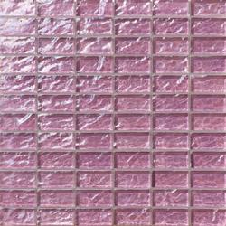 Onde 23x48 Lilla R | Mosaici in vetro | Mosaico+