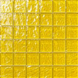 Onde 48x48 Giallo Q | Mosaicos de vidrio | Mosaico+