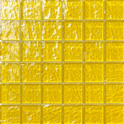 Onde 48x48 Giallo Q | Mosaïques en verre | Mosaico+