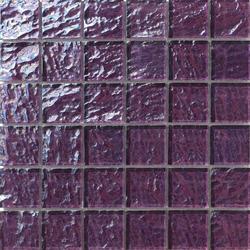 Onde 48x48 Viola Q | Glass mosaics | Mosaico+