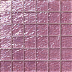 Onde 48x48 Lilla Q | Glass mosaics | Mosaico+