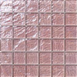Onde 48x48 Rosa Antico Q | Mosaicos de vidrio | Mosaico+