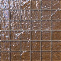 Onde 48x48 Tabacco Q | Glass mosaics | Mosaico+